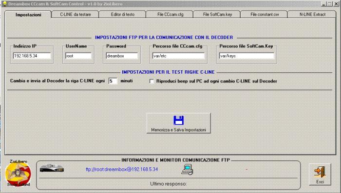 DreamBox CCcam SoftCam Control v 2.1