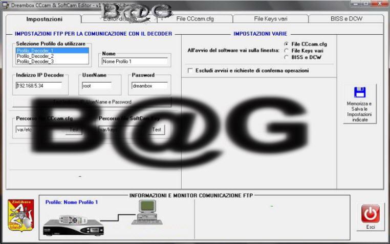 SoftCam Editor v1.1