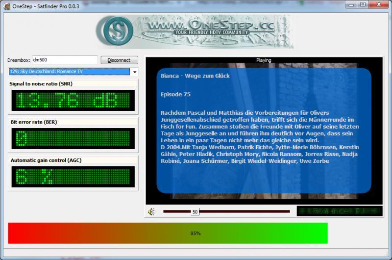 OneStep Satfinder Pro 0.0.3