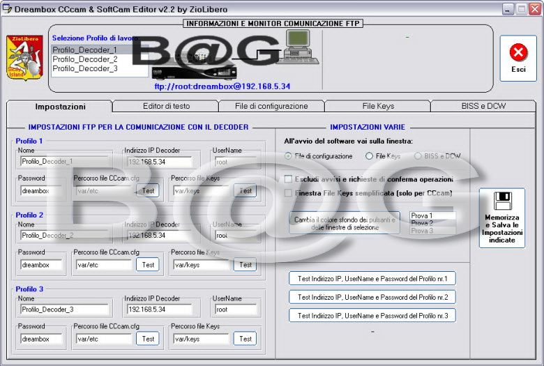 CCcam SoftCam Editor v2.2  02.04.2010