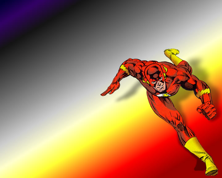 Barry Allen, the second Flash !