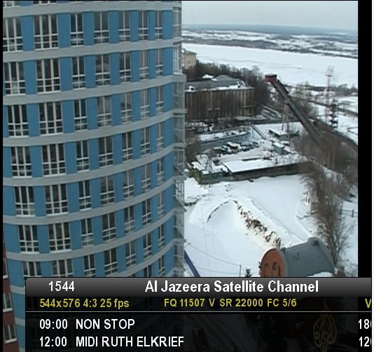 عودة لقناتى mbc persia القمر نيل سات وقناة الجزيرة على القمر ASTRA