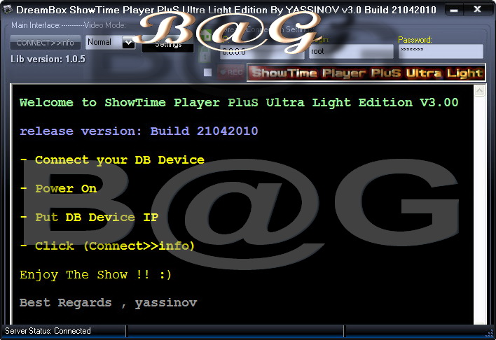 DreamBox ShowTime Player PluS Ultra Light Edition V3.0