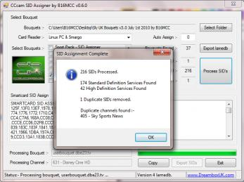 CCcam SID Assigner v0.6.0