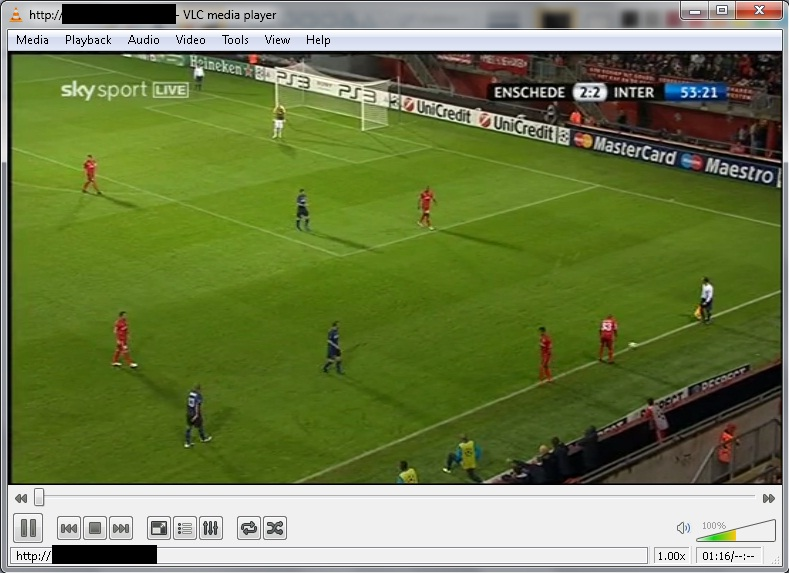 VLC_Graphite- Dreambox Streaming with VLC