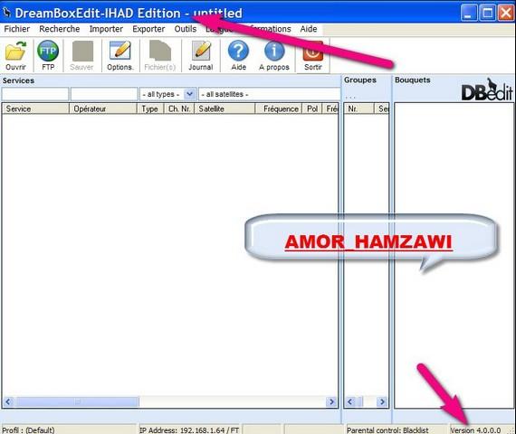 آخر اصدار DreamBoxEdit-IHAD Edition 4.0.0.0 بتاريخ اليوم 17/10/ 2010