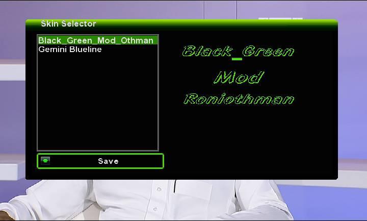 Skin Black_Green Mod_Othman For gemini