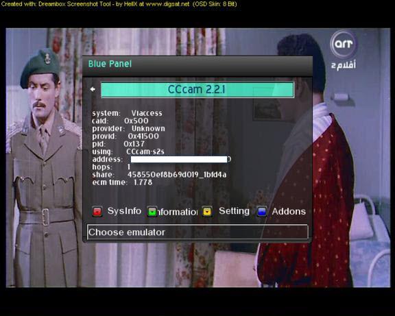 حصريا مع الاصدار الجديد Evolition 2.6 و CCcam 2.2.1 وايضا fixed web-x-tv