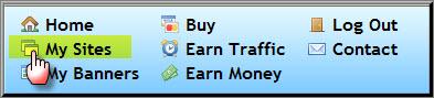 شرح كسب زيارات مجانية - trafficspammer - زيارات مجانية - زوار مجاناً