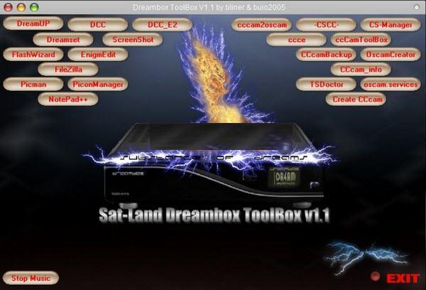 Sat-land Dreambox ToolBox v1.1