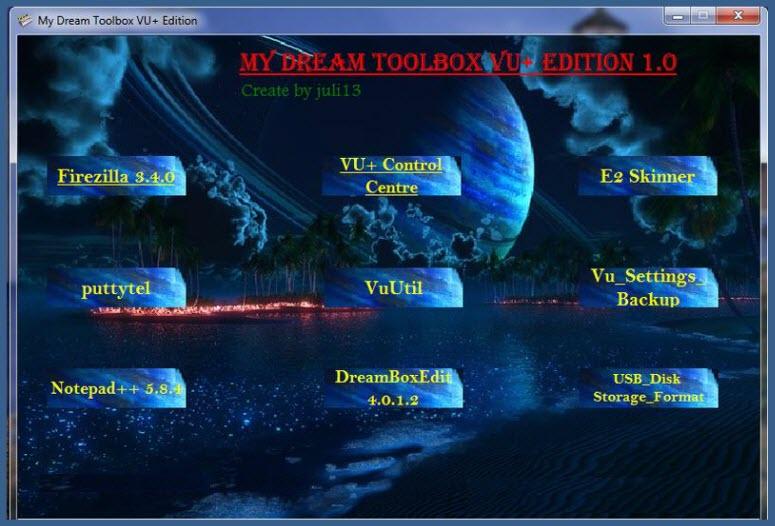 My Dream Toolbox VU  Edition