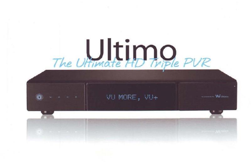 المواصفات التقنية للجهاز الجديد VU+ Ultimo