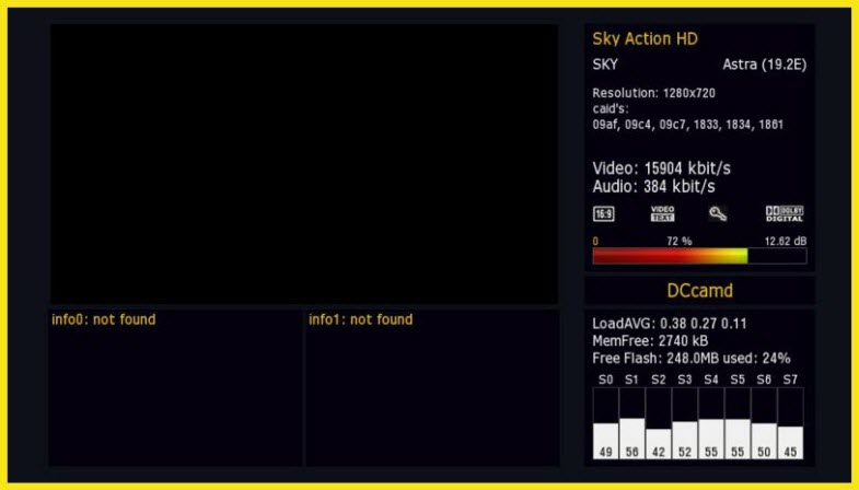 Plugin E2- Merlin Info