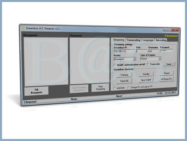 Dreambox VLC Streamer v1.2