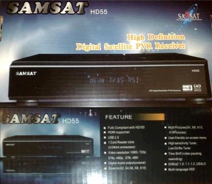 ����� ���� ����� samsat-HD55 ������ 05/03/2012