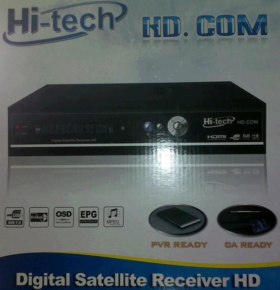 جهاز Hitech No1 HD-111 وتحديت الجديد يفتح 1000 قناة بتاريخ 17/3/2012