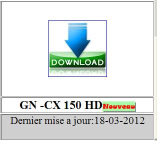 تحديث جديد للأجهزة géant    بتاريخ 18/03/2012