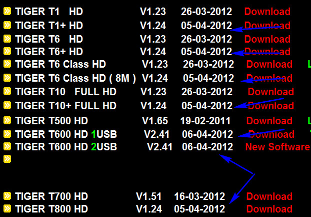 اصدار جديد لاجهزة التاجر HD بتاريخ 05/04/2012