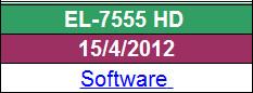 تحديث جديد لجهاز EL-7555 HD  من الموقع الرسمي  بتاريخ 15/04/2012
