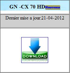 تحديث جديد للأجهزة géant بتاريخ 22/04/2012