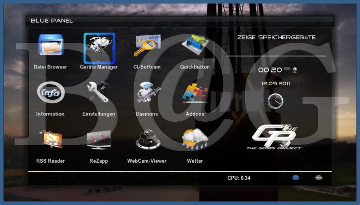 Skin E2- Infinity_HD For GP3 OE2.0