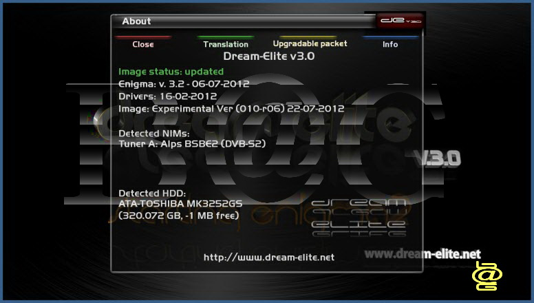 Dream Elite 3.0 ver 010r6 For DM7020 HD