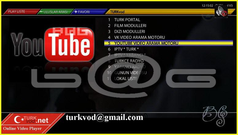 TurkVod v5.0 For OE1.6 & OE2.0