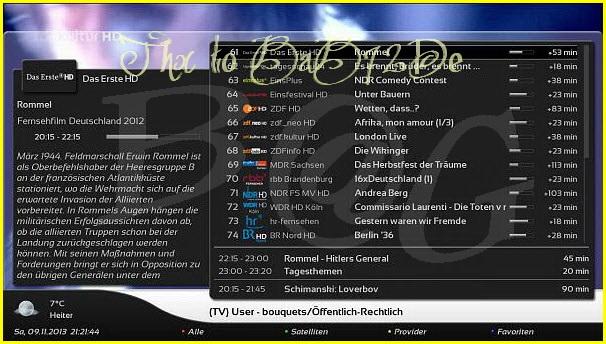 Skin E2-Black-Box HD For OE2.0 Merlin³
