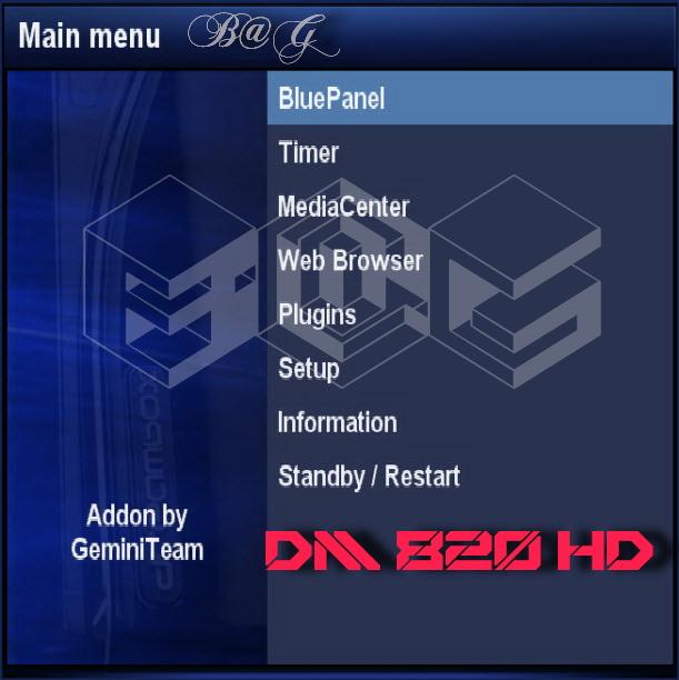 مجموعة صور دريم 820 اتش دي DM 820 HD مضاف لها GP3.3