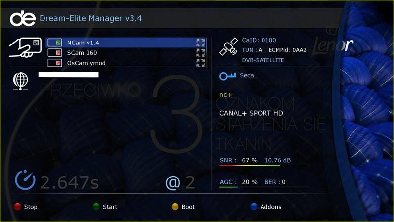 جميع ملفات الايمو الخاصة بصورة OE2.5 Dream Elite 6.0