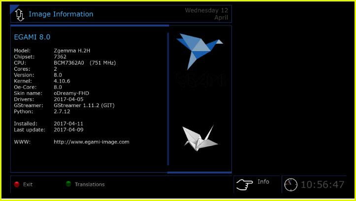 OE2.5 EGAMI 8.0 For DM 900 Ultra HD-11.04.2017