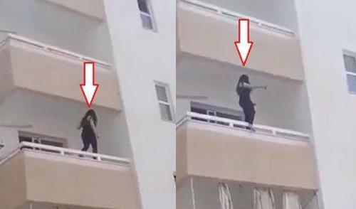 صور محاولة انتحار فتاة بمحافظة العقبة في الاردن