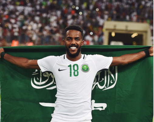 سبب استبعاد نواف العابد من المشاركة مع السعودية في كأس العالم 2018