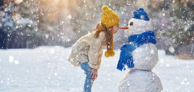 شعر عن الثلج - قصائد عن الثلج - أشعار عن الثلج والحب