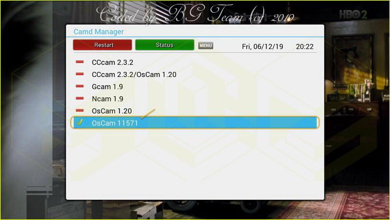 جميع ملفات الايمو OsCam 11571 لدريم 920