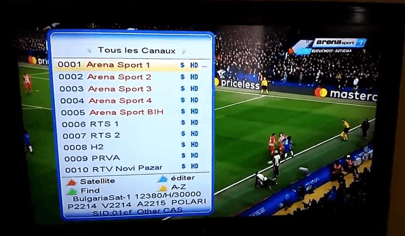 استقبال وضبط تردد قناة ارينا سبورت القناة سوف تقوم بنقل مباريات دوري أبطال أوروبا بشكل مجاني