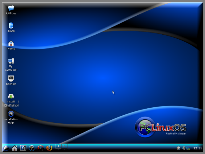 ������ �������� �� PCLinuxOS 2009.1