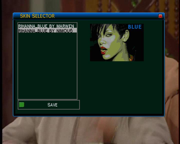 بتاريخ 15/04/2009الصورة التركية الرائعة TDW DM500 بسكينRihanna Blue واللغة الفرنسية