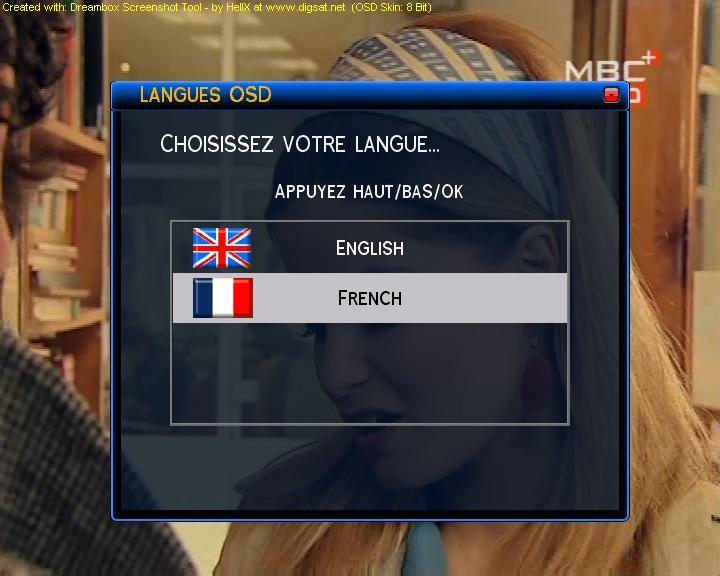 الصورة الإيطالية الرائعة ITFProjectV2 بسكين RIHANNA BLUE واللغة الفرنسية