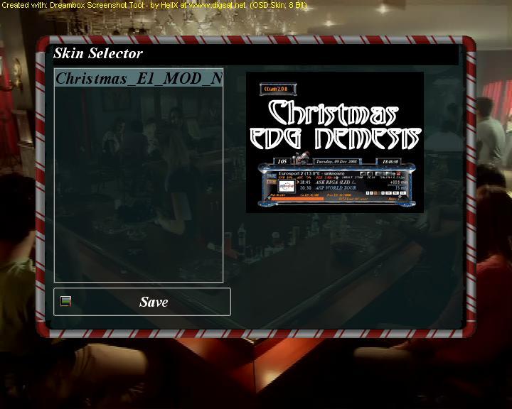 النمسيس 4.4 بسكين Christmas مع تغييرال Driver