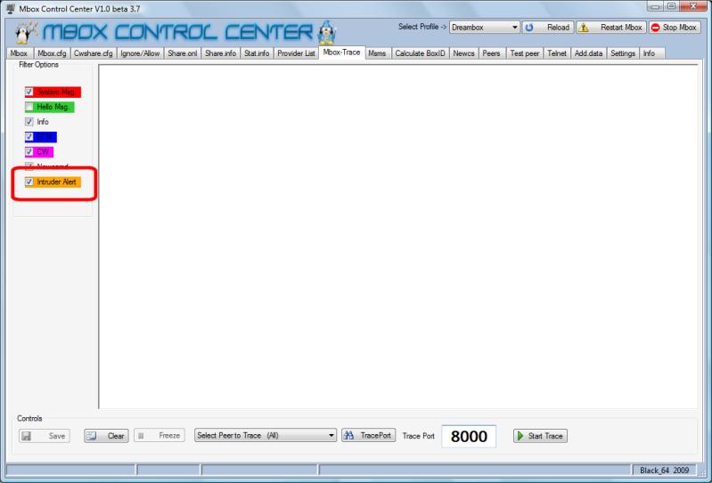 Mbox Control Center V1.0 Beta 3.7