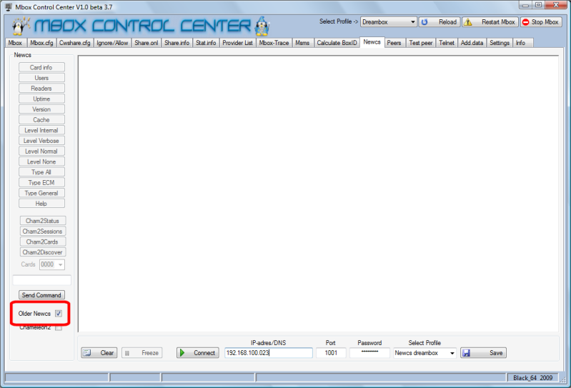 Mbox Control Center V1.0 Beta 3.7