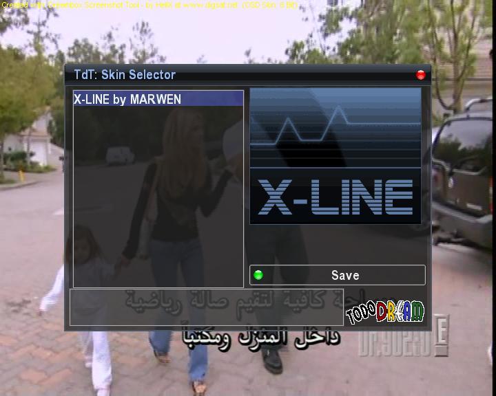 الصورة البرتغالية TDteam بسكين XLINE و CCcam 2.1.1 للتنصيب الذاتي من إعدادي