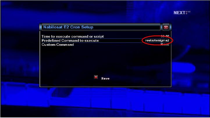 كيف عمل restartemu او reboot اوshutdown اوتماتيكيا بدون سكريبت علىDM800