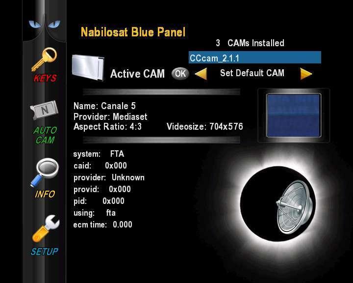 Nabilosat Enigma2 Black Hole - DM7025 v0.11