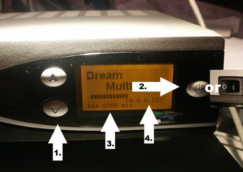 كيفية تحميل السوفت وير لأجهزة الدريم بوكس بالصور
