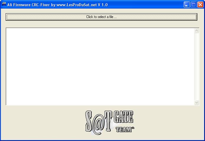 ���� ������ ������ ��������� CRC Fixer v1.0