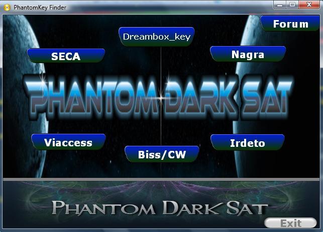الباحث عن الشيفرات والمفاتيح phantomdarksatkeyfinder_v.1.0