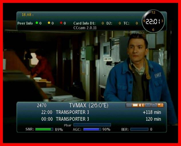 """قنوات Showcinema TVMAX على اوربيت شغالة حاليا""""18/8/2009"""