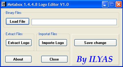 Metabox 1.4.4.8 Logo Editor V1.0